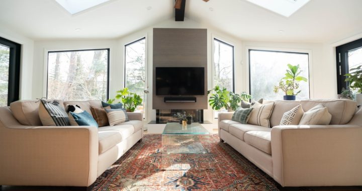 Bright windows for an ideal dream home