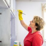 How To Paint Old Laminate Cabinets